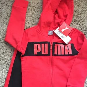 Puma  Hoodie sweat  two piece set  boys 5T